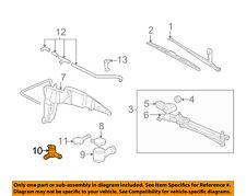 FORD OEM Windshield Window Wiper-Front Washer Pump F5RZ17664A