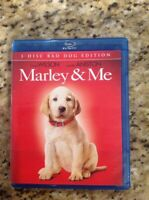 Marley  Me (Blu-ray Disc, 2009, 2-Disc Set, Bad Boy Edition Widescreen)Authentic