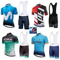 Completo Ciclismo estivo Bora maglia salopette fondello Gel 9D