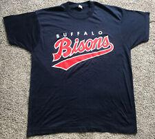 Vintage 80's Men's XL Buffalo Bisons Minor League Baseball MILB T-Shirt