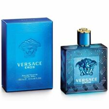 Versace Eros for Men Eau de Toilette Spray 100ml Brand New 100% Original Sealed
