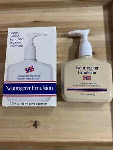 Neutrogena Norwegian Formula Body Emulsion Concentrated Therapeutic Vintage