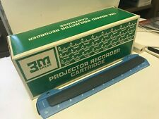 3M 625  VISUAL PRODUCTS SOUND & SLIDE PROJECTOR RECORDER CARTRIDGES, 36 SLIDES