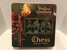 Pirates of the Caribbean Chess Dead Man's Chest Set Collector Edition