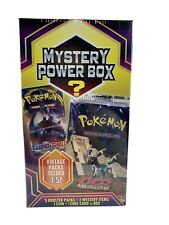 Pokemon Power Box Vintage  5 Booster Packs  Sealed Free Shipping