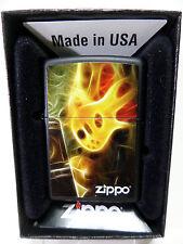 "Zippo  ""FLAMING  GUITAR"" - schwarz -  NEU & ovp - #625"