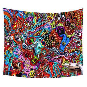 Boho Mandala Tapisserie Bunte Wandbehang Tapisserie Kunst Home Schlafzimmer PA