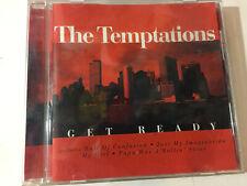 THE TEMPTATIONS 'Get Ready' 2002 German CD Album - Greatest Hits