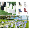 100Pc Universal Chair Covers Polyester Spandex Banquet Wedding Party Baby Shower