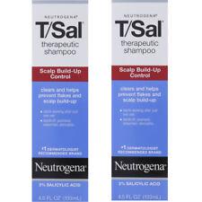 2 Pack Neutrogena T/Sal Therapeutic Maximum Strength Shampoo 4.50 oz Each