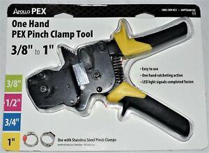 """Apollo PEX 69PTBJ0010C One Hand PEX Pinch Clamp Tool 3/8"""" to 1"""" (1002-509-021)"""