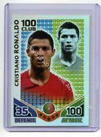 (Gb1967) Match Attax, World Cup 2010, 100 Club, Cristiano RONALDO, Portugal EX