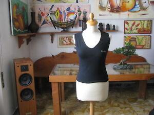 Woman Sleeveless Hooded Size / SIZE S Black - Fruscìo