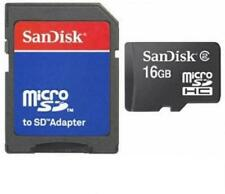 16gb Micro SD SDHC Scheda di Memoria Scheda per Aiptek PenCam Trio HD