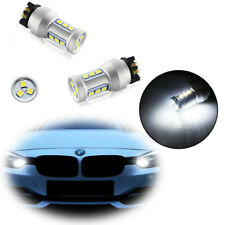 Error Free White PW24W PWY24W LED Turn Signal/DRL Lights Bulbs For Audi BMW VW