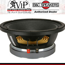 "B&C 10MD26 10"" Midbass Speaker 10"" Pro Audio Midrange Replacement Woofer"