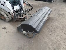 2015 Bobcat 84 Sweeper Angle Broom Bucket Attachment For Skid Steer Loader