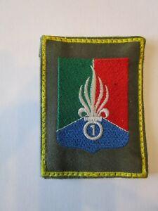 insigne tissu, patch, Légion Etrangère, 1° REC, Cavalerie Légion