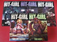 HIT-GIRL COMPLETE SERIES #1-5 KICK-ASS ICON MARK MILLAR JOHN ROMITA JR IMAGE