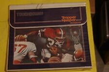"""Mead Trapper Keeper RARE Vintage 80's """"TOUCHDOWN!"""" Football themed binder"""