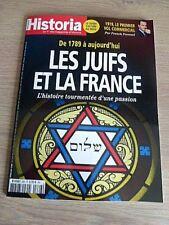REVUE  HISTORIA  N° 866  FEVRIER  2019  /  LES  JUIFS  ET  LA  FRANCE