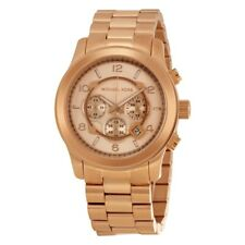 Michael Kors MK8096 Runway Oversized Rose Gold Chronograph Watch