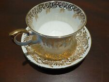 Superb Vintage English bone china cup / saucer-Paragon [Y8-W6-A8]