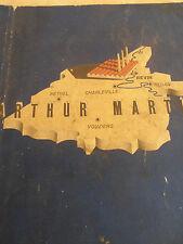 catalogue de fonderie fourneaux Arthur Martin année 1936 ( ref 3 )