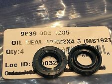 Stihl Chainsaw MS192T new OEM oil seals 9639 003 1205 READ for open crankcase