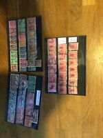 New Zealand Stamps vintage in 3 stock cards B free postage
