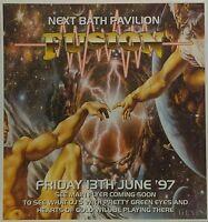 Fusion ~ A Journey Intadance @ Bath Pavilion, 13/06/97 Rave Flyers Pre-Flyer