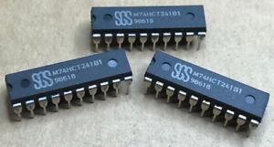 30 X M74HCT241B1  SGS   DIP IC