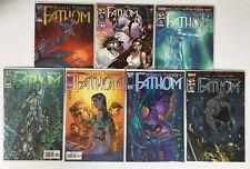 Michael Turner's Fathom Image Comics Lot Of 7 Modern Age Comic Books Top Cow