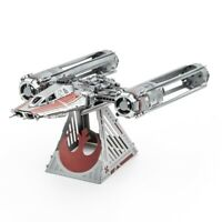Metal Earth Star Wars ZORII'S Y-WING FIGHTER The Rise of Skywalker 3D Model Kit