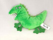 CE Peppa Pig Plush Georges Mr Dinosaur Flat Toy Doll Stuffed Animal Green