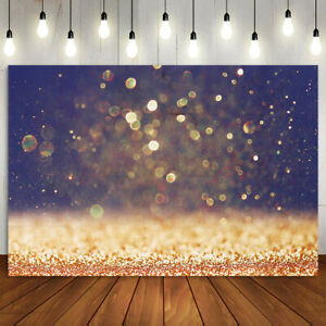 Gold Glitter Paint Photography Background Wedding Birthday Party Studio Deco