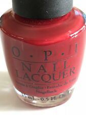 Opi Nail Polish Little Red Wagon (Hl 814) Holiday In Toyland Collection