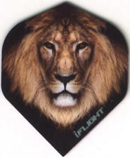 King of the Jungle Lion Dart Flights: 3 per set