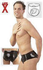 Slip latex avec Gode Anal Rubber Pants With Internal Dildo