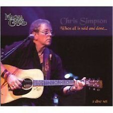 Chris Simpson When All Is Said & Done... 2-CD NEW SEALED Magna Carta Folk