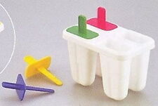 Japanese Plastic Popsicle Mold Ice Cube Tray #1648 S-1936