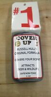 Russell Hull's original formula cover up attracts deer and wildlife non toxic