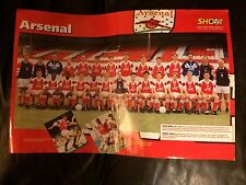 TEAM GROUP POSTER / FOTO DEL EQUIPO - ARSENAL 1992-93 BY SHOOT