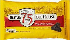 Nestle Chocolate Chips Semisweet Morsels - 72oz Resealable Bag
