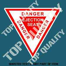 EJECTION SEAT DECAL STICKER MILITARY ARMY SAFETY AIR FORCE DECALS STICKERS
