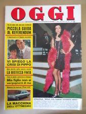 OGGI n°6 1974 Adriana Asti Sabina Ciuffini Franz Drago  [G803]
