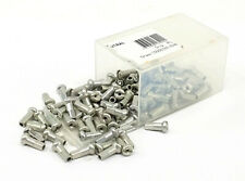DT Swiss Standard Aluminum Nipples: 1.8 x 12mm Silver Box of 100
