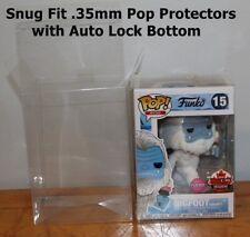 "Funko Pop Protector 4"" - 100 Pack Vinyl Pop Protectors - .35 mm"