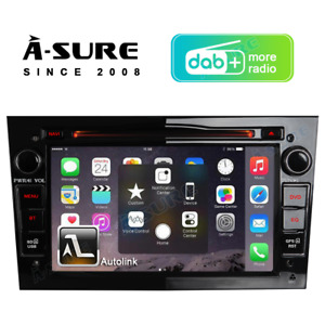 2 in 1(DAB+FM) BT Sat Nav Radio GPS For Vauxhall/Opel/Corsa/Zafira/Astra/Antara