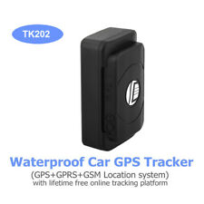 TK202 Wireless GPS Tracker GPRS GSM 6400mAh Real Time For Motorcycle Vehicle Car